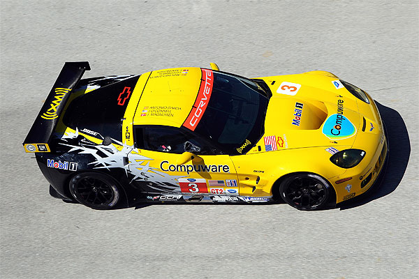 Corvette Racing Sebring Test 2010