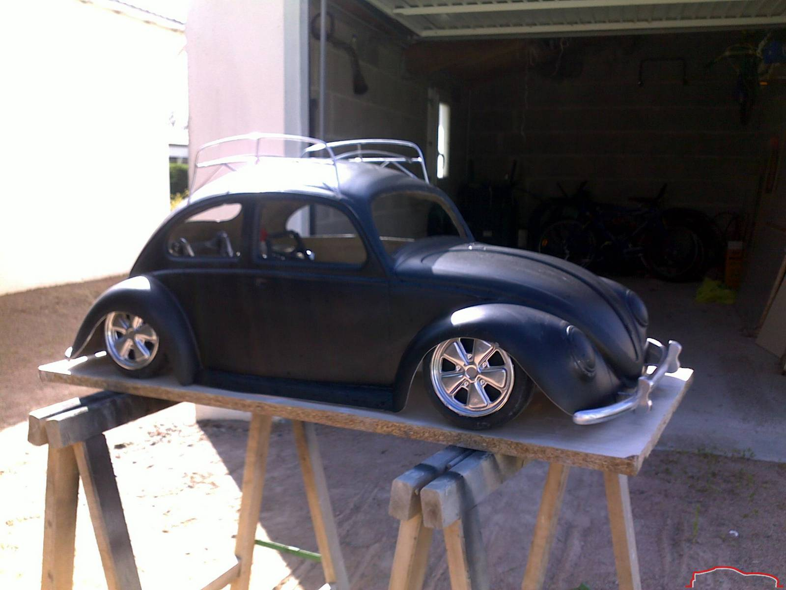 www Quarterscalelegends com • View topic - VW oval beetle 1:4 scale