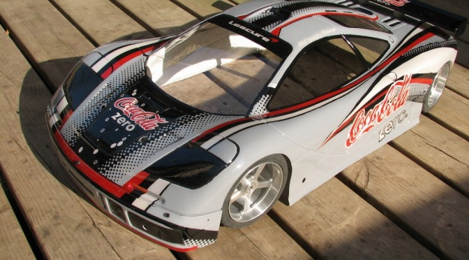 Mc Laren F1 Theme Coca-Cola Zero