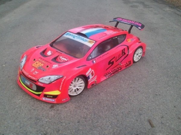 renault megane trophy 1'5 rose fluo cyril.motard