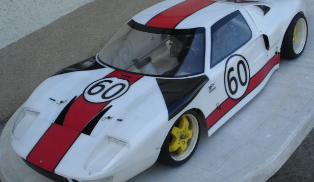 Yankee Ford GT 40 – 1:4 scale – ickx / neerpasch le Mans 1966