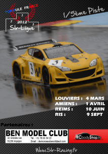 RCbodyShop support SLR Ligue 2012