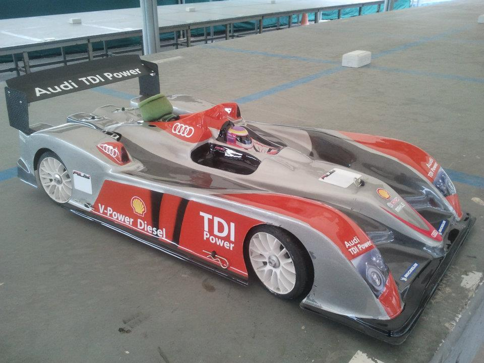 new LMP1 bodyshell 1:5 scale