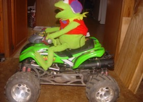 quad monster kermit