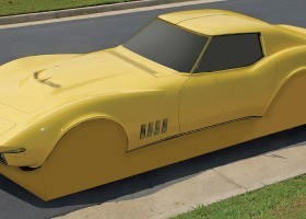 corvette c3 fake mold