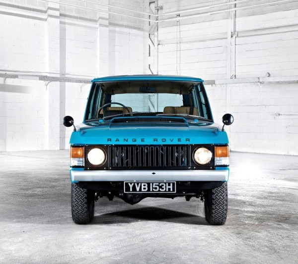 range rover classic grille verticale
