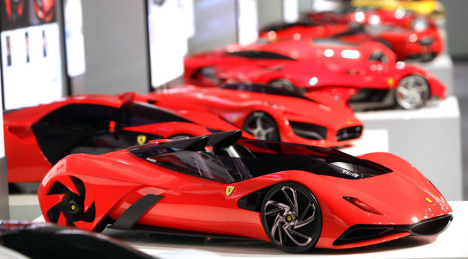 Ferrari design Contest 2011 1:4 models