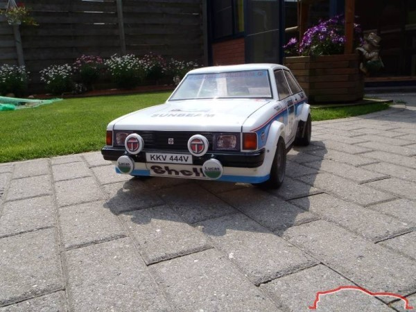 carrosserie  Talbot Lotus Sunbeam au 1:5
