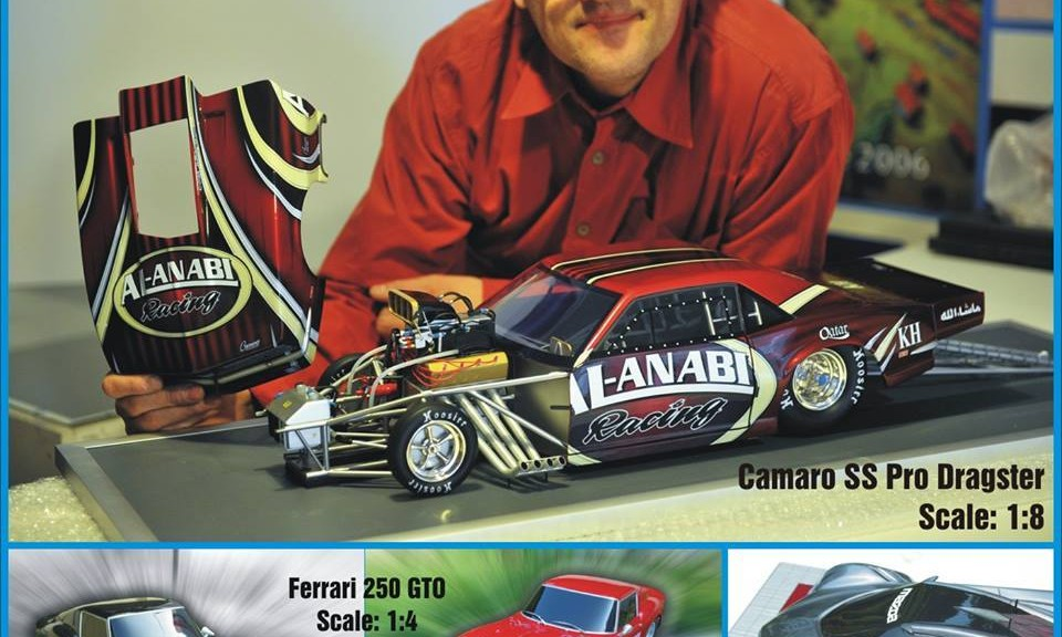 maquette camaro SS pro dragster 1:8