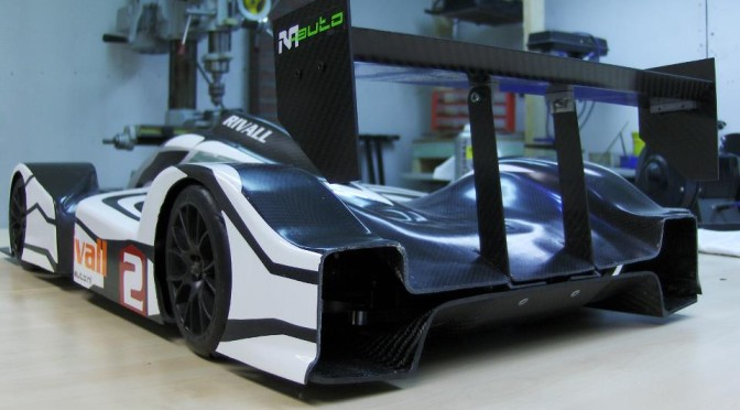 Rivall Racing 1:5 brushless carbon LMP car