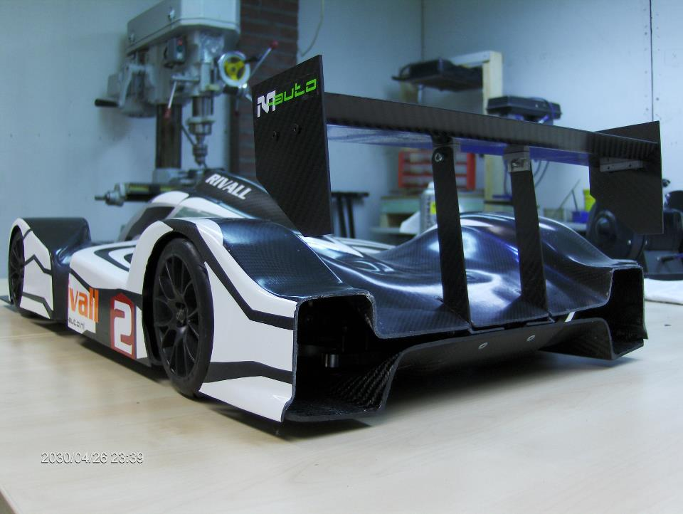 voiture rivall racing 1 5 brushless carbone lmp 4 rcbodyshop carrossier maquettes auto rc. Black Bedroom Furniture Sets. Home Design Ideas