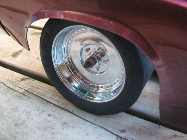 IQP dragster rim (chrome)