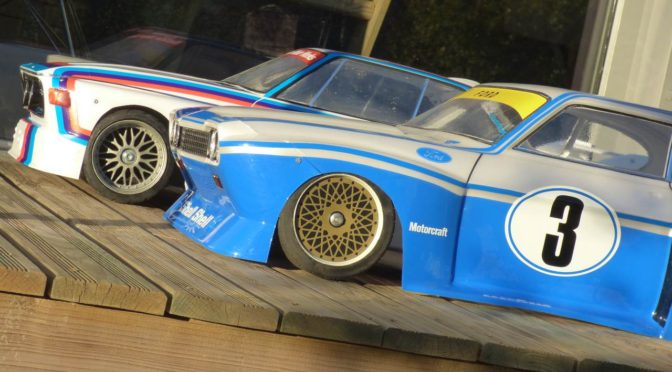 Ford Capri & BMW CSL 1:5 scale 2016 paint