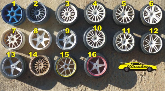1:5 scale onroad wheels