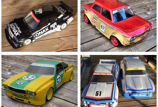 last batch of youngtimer 1:5 bodyshells
