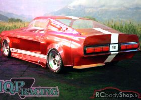 carrosserie 1:5 lexan ford mustang gt500 eleanor pony bullit IQP racing