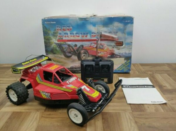 Vintage Radio Shack Red Arrow Buggy Radio Controlled Car Turbo #7